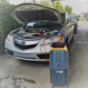 carbon cleaning acura rdx